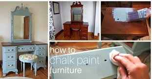 chalk paint furniture diyHow To Chalk Paint Furniture  Simple Recipes DIY Tutorials