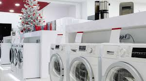 washing machines for sale department store christmas time