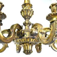 carved wood chandeliers wood carved chandelier french baroque style chandelier in carved wood with eight lights