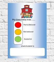 Classroom Behaviour Wall Chart Classroom Behavior Chart