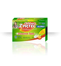 Zyrtec Dosage Charts For Infants And Children