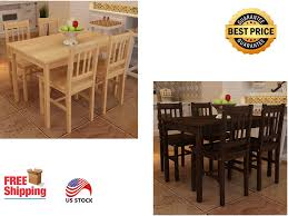 5 Pcs Home Furniture Wooden Dining Set With 2 Different Colors For