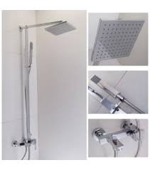 Type of shower Different Types View History Fontana Showers Wall Mounted Shower Mixer With Rain Showerhead 1516wholesalefaucet