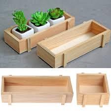 Decorative Wooden Planter Boxes