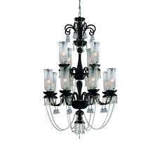 mariah collection 12 light black hanging chandelier