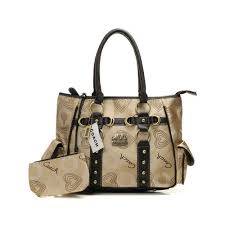 Coach Waverly Stud In Signature Medium Khaki Totes 20409