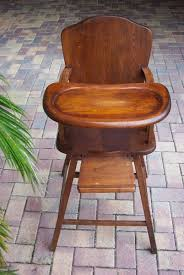 wood ba high chair antique childs high chair heirloom wooden throughout proportions 803 x 1200