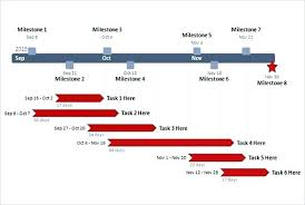 Business Timeline In Step Circles Corporate Milestones Graphic ...
