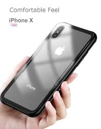 Toughened Glass Super Light Bakeey Tempered Glass Transparent Back Tpu Frame Case For Iphone X