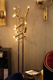 Floor Lamp Long Arm Floor Lamp Swing Arm Floor Lamp Antique Brass