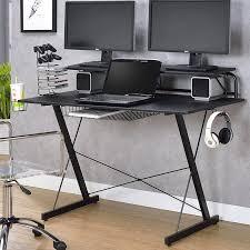 gaming computer desk.  Desk Bickel Gaming Computer Desk Inside I