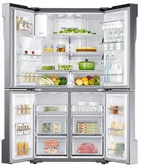 refrigerator 4 door. ft. counter depth 4-door french door refrigerator with cool select plus - stainless steel 4 o