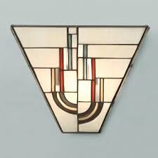 tiffany art deco wall light with decorative stained glass shade  on tiffany wall lights art deco style with the 7 best wall lights images on pinterest art deco lighting art