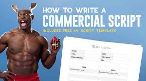 av script ultimate av script template to write better ads free av script