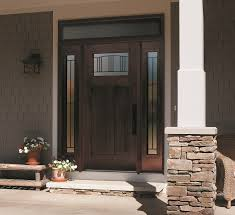 madison wrought iron door glass outside view