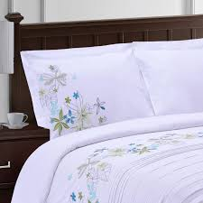simple luxury superior spring blooms duvet cover set reviews