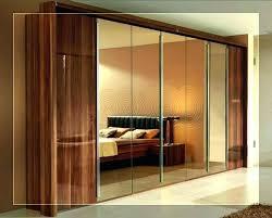 ideas for sliding closet doors mirror mirrored bedrooms diy door