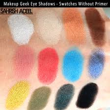 makeup geek eye shadows review swatches