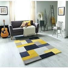 yellow contemporary rug modern contemporary rug box yellow grey handmade wool carpet rugs runner