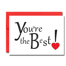 Valentine Cards Youre The Best Box Of 30 Note Cards 32 Env