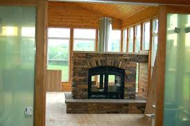 gas starter for wood fireplace wood burning fireplace with gas starter pipe chimney liner see through