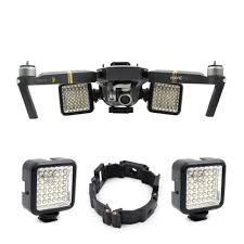Mavic Pro Platinum Lights Us 45 87 31 Off For Dji Mavic Pro Platinum Drone Part Night Flying Led Light Mount Buckle Holder Bracket Frame For Dji Mavic Pro Accessories In