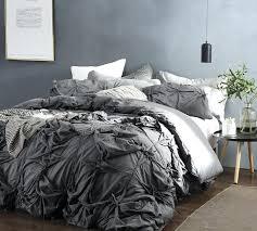 gray bedspreads queen knots handcrafted texture ties queen duvet cover oversized queen dark gray gray flannel