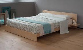 Solid Ash Bedroom Furniture Kulu Platform Wooden Bed Natural Bed Company