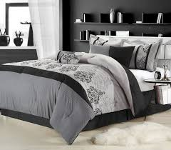 Silver And Black Bedroom Similiar Black And Silver Bedding Keywords