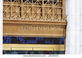 Nyse Quotes Mesmerizing Stock Quotes Outside NYSE Stock Photo Royalty Free 48