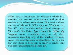 Cancel Office 365 What Are The Steps To Cancel Office 365 Subscription