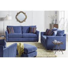 Living Room Sofas And Loveseats Maddie Living Room Sofa Loveseat Blue 32770318720 Living