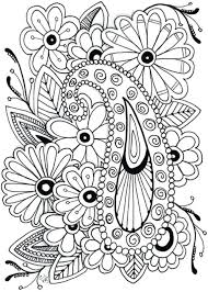Printable Coloring Flowers Free Printable Coloring Pages Flowers 7