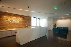 Lighting Stores Ottawa Ontario Delta Light Linear Light Office Reception Area Pythian