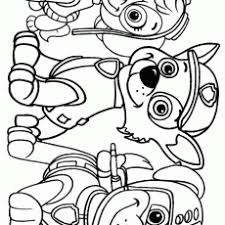 Enjoyable Design Ideas Paw Patrol Coloring Pages Free Happiness Is