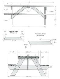 picnic table blueprints free blueprints for picnic tables free picnic table woodworking plans classic style a