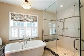 impressive bathroom design and decoration with various standing shower ideas heavenly image of bathroom design