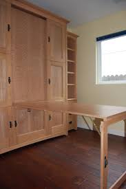 murphy bed office. Wallbed (murphy Bed) With Hidden Fold-down Table Or Desk. Perfect For Home Office That Doubles As A Guest Room. Murphy Bed