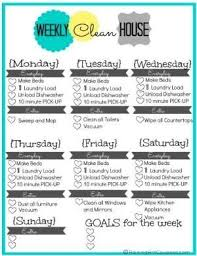 cleaning schedule printable pin by samantha wingo robertson on chores list pinterest