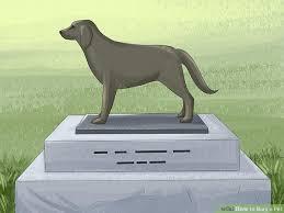 3 Ways To Bury A Pet  WikiHowDog Burial Backyard