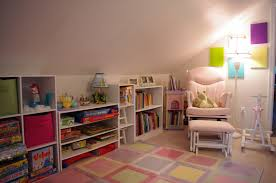 Bedroom:Amusing Sloped Ceiling Bedroom Ideas Lovely Floral Wallpaper  Decorating For Women With Bookcase Lighting