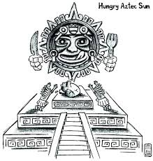 Mayan Coloring Pages Coloring Pages Winning Temple Coloring Page