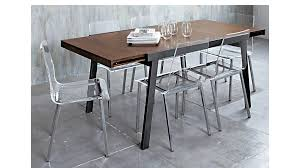 lucite dining chairs clear modern room