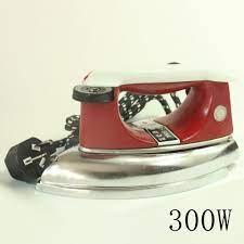 ✸Chính hãng Red Heart 1315 Bộ điều nhiệt Bàn là điện công nghiệp không dùng hơi  nước Kiểu cũ ủi 300W / 500W 700W