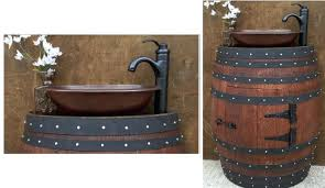 furniture made from wine barrels. Rustic Furniture Made From Wine Barrels