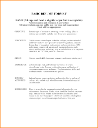Resume Examples With References