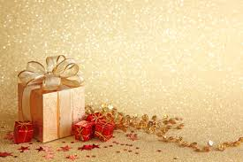 Gifts Background Christmas Gift Boxes Golden Background Christmas Holiday