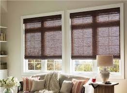 bamboo roman shades for french doors