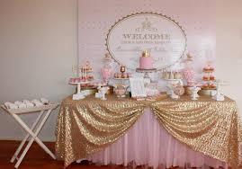 Pink And Gold Little Princess Baby ShowerDIY Tutu Glass Vase Princess Theme Baby Shower Centerpieces