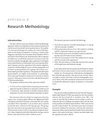 Research methodology concept research paper. Appendix B Research Methodology Helping Airport And Air Carrier Employees Cope With Traumatic Events The National Academies Press